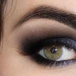 Tutorial - olho preto com brilho inspirado em Patrícia Poeta