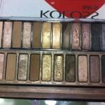 Koloss lança paletas de sombras iguais as Naked Palettes da Urban Decay
