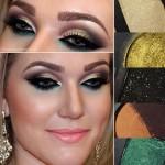Maquiagens com a paleta Pausa para Feminices