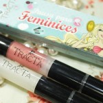 O kit de brilho labial do Pausa para Feminices para Tracta