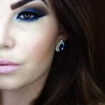 Tutorial - maquiagem azul poderosa por Evelyn Conversani
