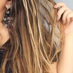 Pop pluma: apliques lindos para os cabelos!