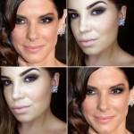 Tutorial - maquiagem inspirada em Sandra Bullock no Oscar