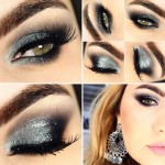 Tutorial - smokey eyes prata e preto