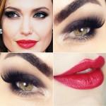 Tutorial - maquiagem clássica inspirada em Angelina Jolie