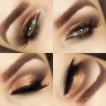 Tutorial - maquiagem de pele (contorno e iluminador) e olhos com Palette Divina da Eudora