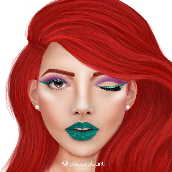 makeup-ariel