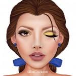 5 maquiagens inspiradas na Disney