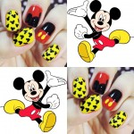 Unhas do Mickey Mouse