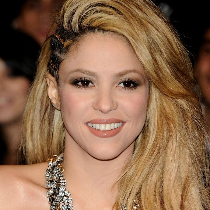 Shakira é aquariana do dia 02/02.