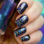 Tutorial - nail art de sereia