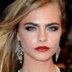 10 maquiagens de Cara Delevingne