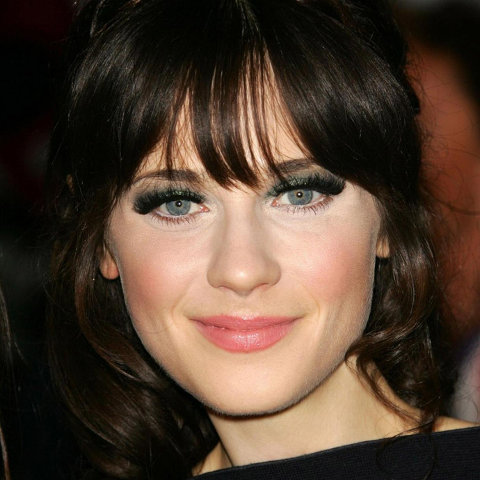 Zooey Deschanel é capricorniana do dia 17/01.