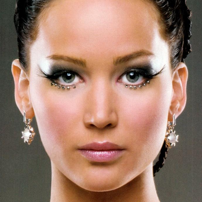 As maquiagens de Katniss Everdeen em Jogos Vorazes (2)