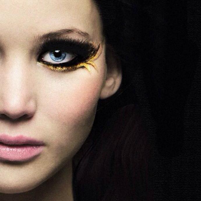 As maquiagens de Katniss Everdeen em Jogos Vorazes (5)