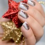 Tutorial - Unhas de Natal