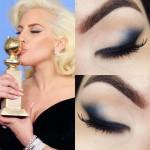 Tutorial - maquiagem da Lady Gaga no Globo de Ouro