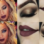 Makeup Tutorial Beyoncé Hymn For The Weekend - Maquiagem Metálica