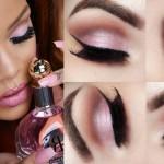 Tutorial - maquiagem romântica inspirada na Rihanna