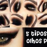 Tutorial - 5 tipos de olhos preto