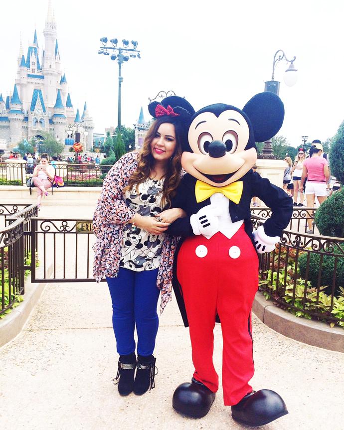 O Mickey me achou fofinha <3