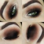 Tutorial - olho marrom esfumado para iniciantes