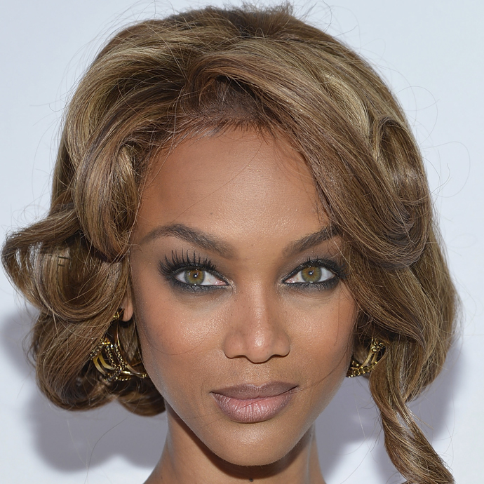 Tyra Banks é sagitariana do dia 04/12