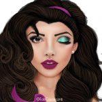 16 maquiagens inspiradas em princesas da Disney