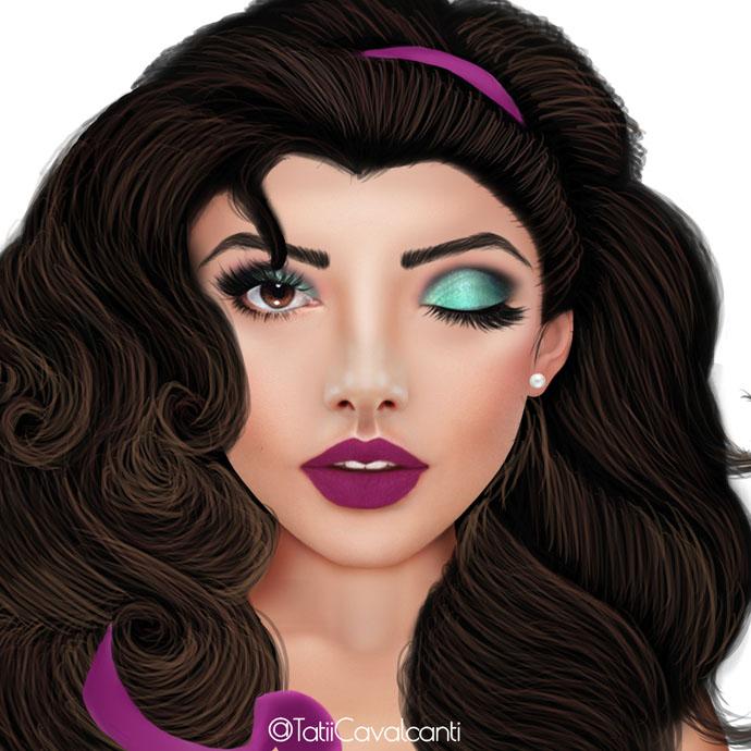FaceChartsPrincesasParte3-Esmeralda
