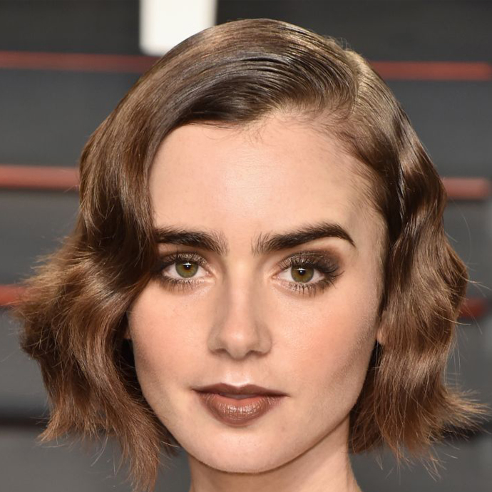 Lily Collins é pisciana do dia 18/03