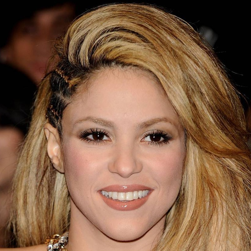 Shakira é aquariana do dia 02/02
