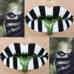 Aprenda a lipart do Beetlejuice