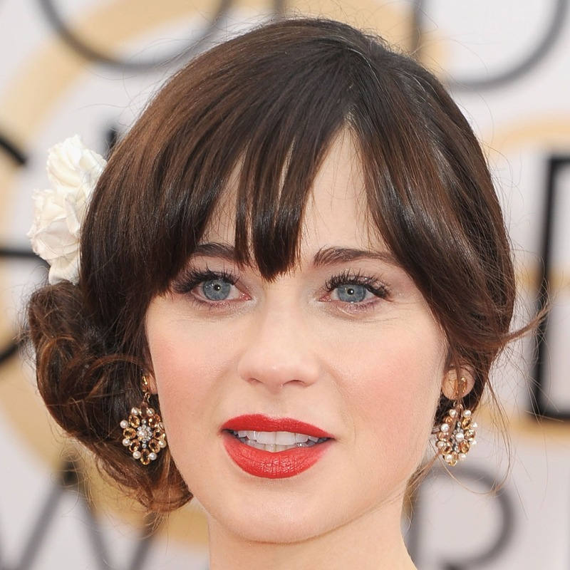 Zooey Deschanel é capricorniana do dia 17/01