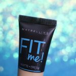 Resenha da base FIT ME de Maybelline