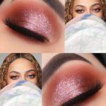 A make rosa brilhante da Beyoncé