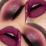Maquiagem Glam Glitter efeito profissional